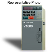 CIMR-VU2A0001FAA Yaskawa 0.125/0.125 & 0.25 HP @ 240vAC 0.8 Amp Heavy Duty, 1.2 Amp Normal Duty Nema1 VFD